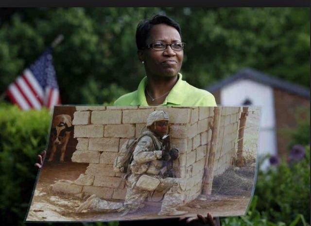 Spc. Jamal Rhett's Mother remembering her son after his death.